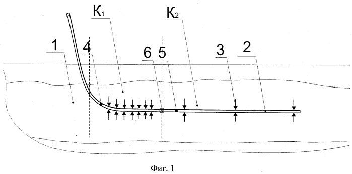 Способ разработки продуктивного пласта с низкопроницаемым участком