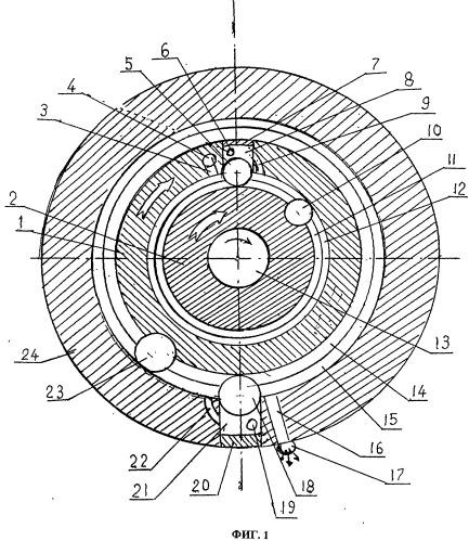 Роторное ступенчатое устройство