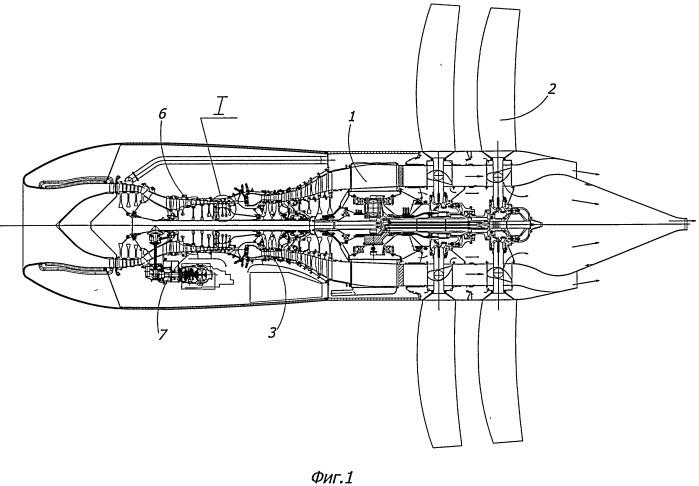 Ротор компрессора газогенератора турбовентиляторного двигателя