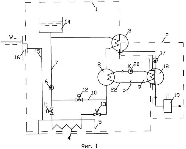 Теплообменный комплекс паротурбинной установки