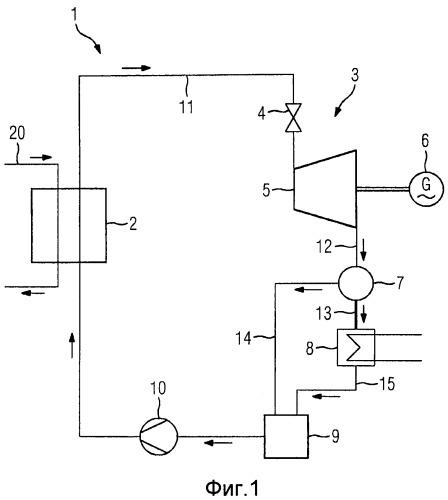 Способ и устройство для преобразования тепловой энергии низкотемпературного источника тепла в механическую энергию