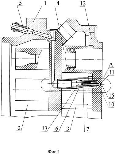 Смесительная головка камеры жидкостного ракетного двигателя