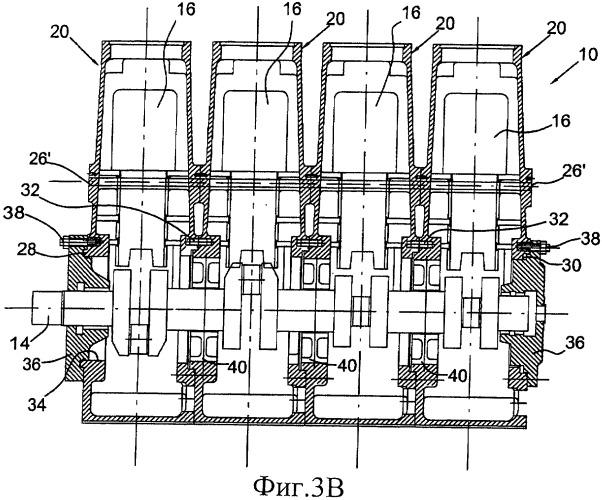 Поршневой компрессор для сжатой текучей среды