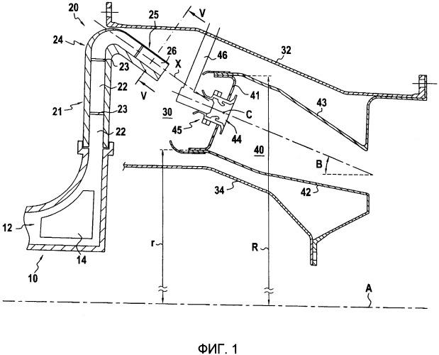 Диффузор турбомашины