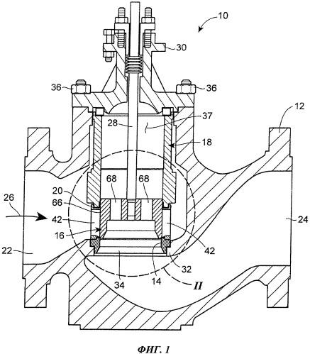 Регулирующее клапанное устройство и уплотнение