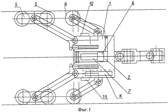Гидравлический стабилизатор скорости движения для внутритрубного снаряда-дефектоскопа