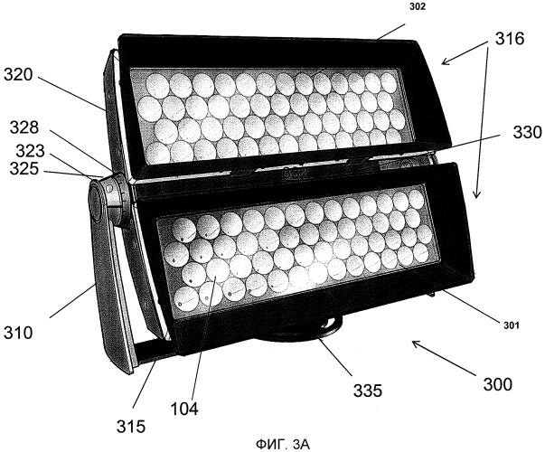 Сид светильники для широкомасштабного архитектурного освещения