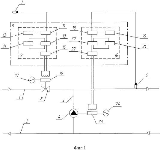 Устройство для регулирования расхода тепла на отопление в системах теплоснабжения