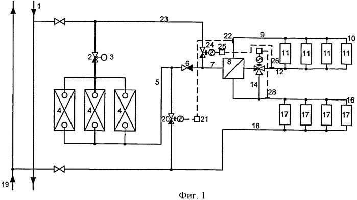 Способ обеспечения нагрузки отопления в системах централизованного теплоснабжения