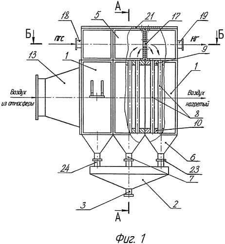 Поверхностный конденсатор воздушного охлаждения