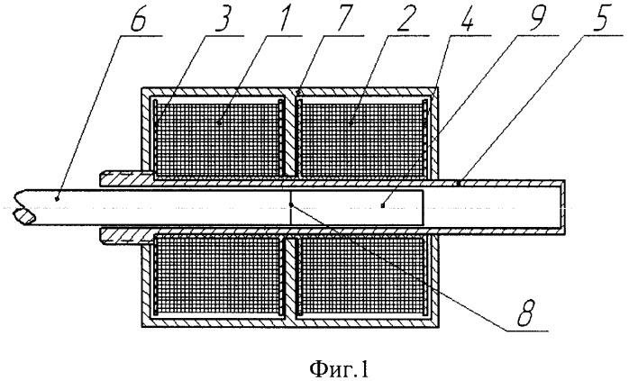 Индуктивный датчик линейного перемещения