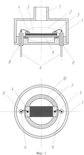 Способ изготовления датчика вакуума с наноструктурой и датчик вакуума на его основе