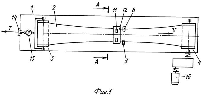 Стенд для исследования параметров подвесной конвейерной ленты глубокой желобчатости с боковыми опорными устройствами
