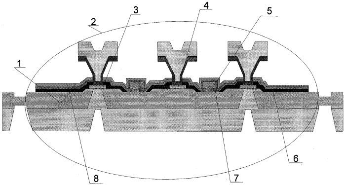 Способ изготовления мощного транзистора свч