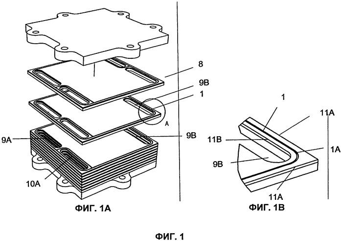 Устройство для использования в батарее топливных элементов, способ его изготовления и батарея топливных элементов