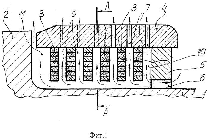 Неявнополюсный ротор синхронной электрической машины
