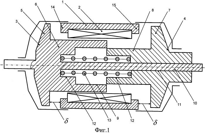 Электромагнитный двигатель возвратно-поступательного движения