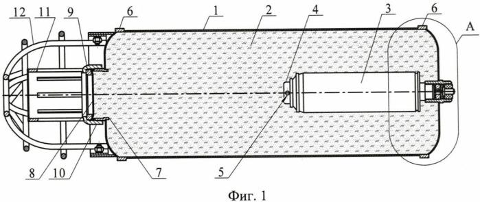 Метаемое устройство порошкового пожаротушения