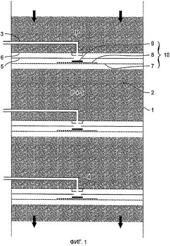 Новая система распределения и сбора потоков в многоступенчатой колонне, содержащая разбрызгиватель