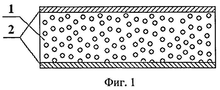 Способ получения многослойной радиопрозрачной панели со средним слоем калиброванного пенопласта