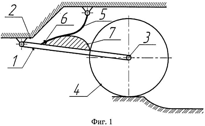 Упругая подвеска с регрессивно-прогрессивной характеристикой