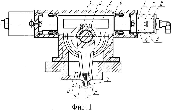 Электропневматический привод коробки передач
