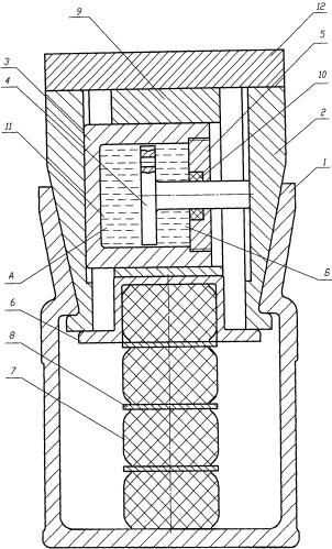 Фрикционно-полимерный поглощающий аппарат автосцепки