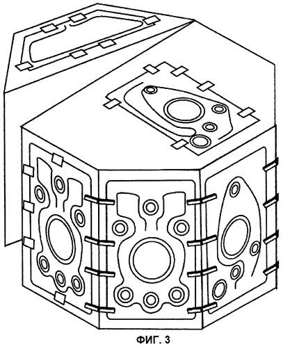 Вакуумная камера на рамном основании для установок для нанесения покрытий