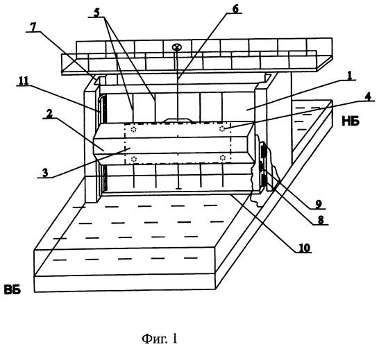 Авторегулятор уровня воды верхнего бьефа