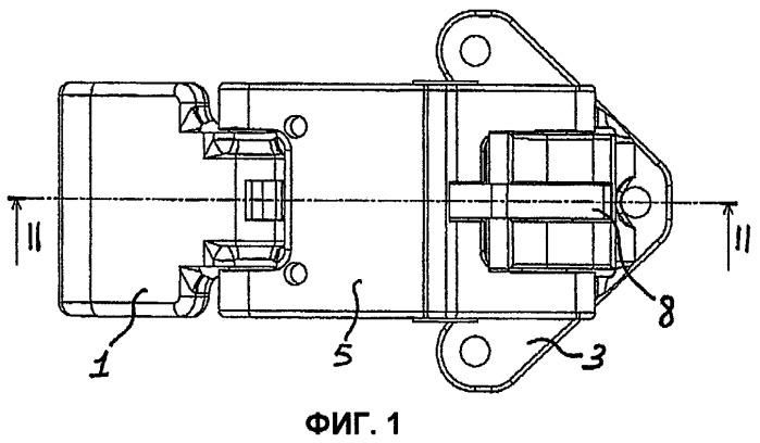 Петля для двери транспортного средства, в частности для фургона