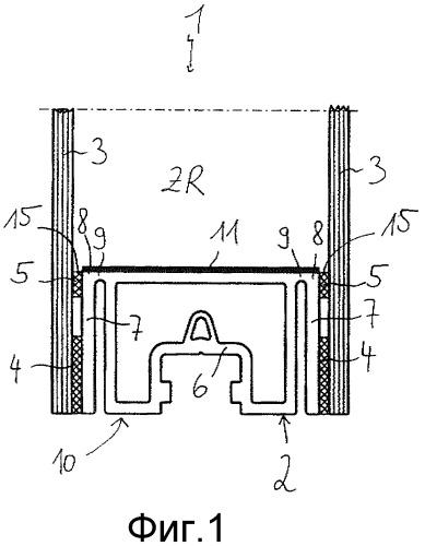 Оконный блок со створным оконным переплетом