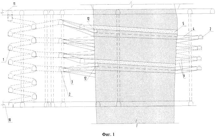 Слоевая камерно-целиковая система разработки с полной закладкой выработанного пространства