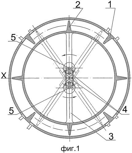 Машина с маятниковым рычагом (варианты)