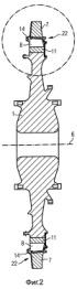 Уплотнительный гребень, узел лопаток турбины и газовая турбина, содержащая такой узел лопаток