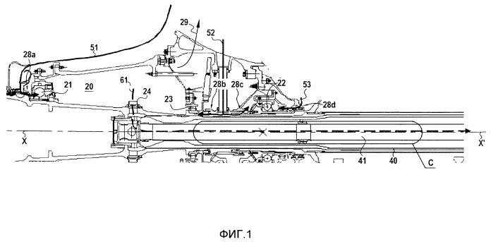 Способ и устройство выравнивания давления в камере для подшипников турбореактивного двигателя