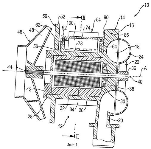 Воздуходувка для отопителя транспортного средства и отопитель транспортного средства