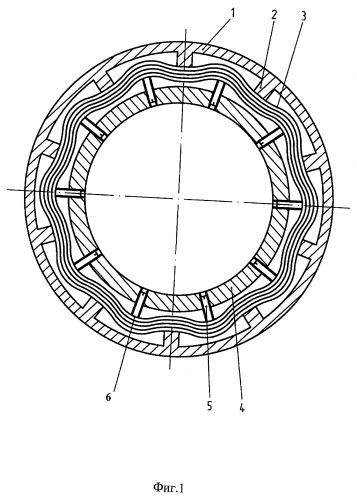 Упругодемпферная опора ротора