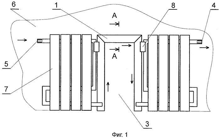 Теплообменник металлический системы отопления помещения