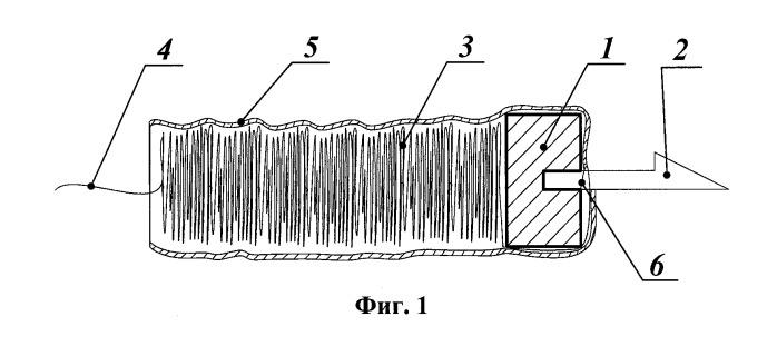 Снаряд дистанционного электрошокового оружия и способ его изготовления