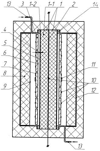 Установка для испытаний теплозащиты летательного аппарата