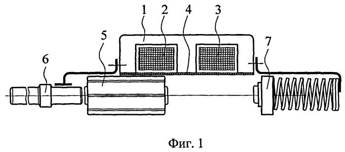 Способ управления двухкатушечным электромагнитным двигателем возвратно-поступательного движения