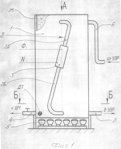 Способ получения растворов в цилиндрической вертикальной емкости, нагреваемой в основном со стороны днища, например, для работы шлихтовальной машины ткацкого производства