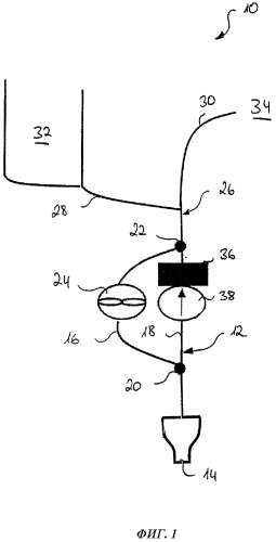 Система вентиляции области в воздушном судне