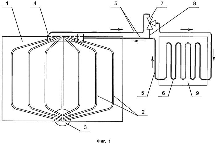 Система терморегулирования приборного отсека посадочного лунного модуля