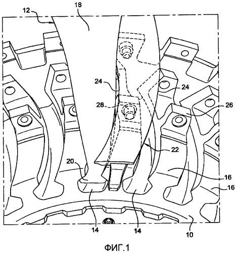 Диск ротора газотурбинного двигателя, газотурбинный двигатель, содержащий такой диск, и защитная накладка ножек лопаток