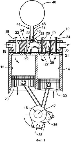 Воздушно-гибридный двигатель с расщепленным циклом