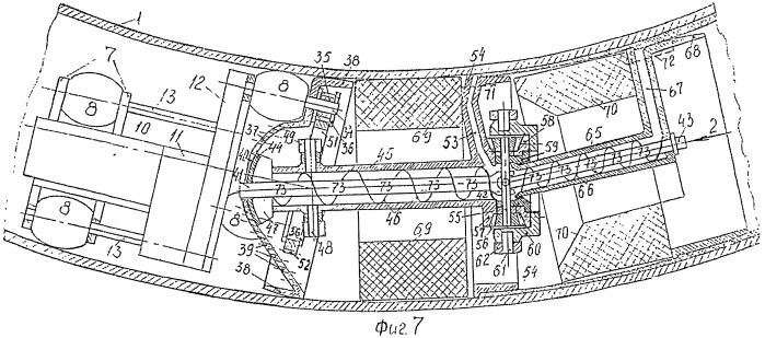 Термомеханический комплекс внутреннего композиционного покрытия трубопровода