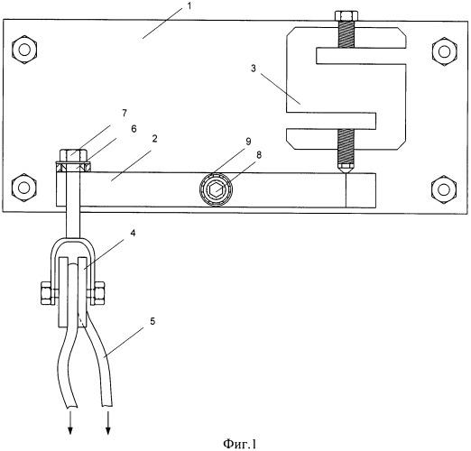 Устройство для измерения натяжения троса