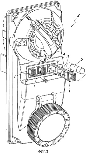 Устройство сигнализации о неисправностях, в особенности для электрических устройств, таких как розетки с блокировкой