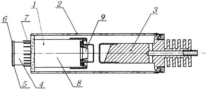 Катодный узел электровакуумного прибора для работы при высоких напряжениях